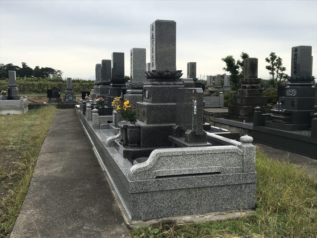 動橋第町二墓地